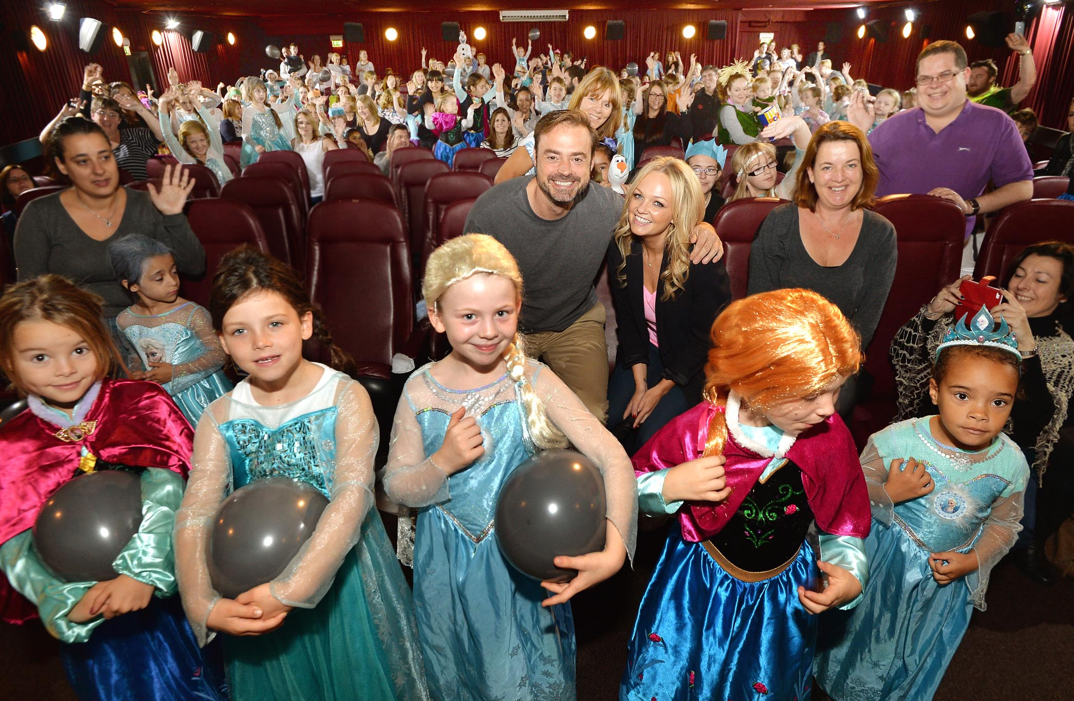 Heart's Jamie And Emma Sing-along To Disney's Frozen