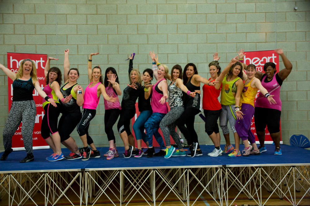 Heart Breaks Zumba World Record