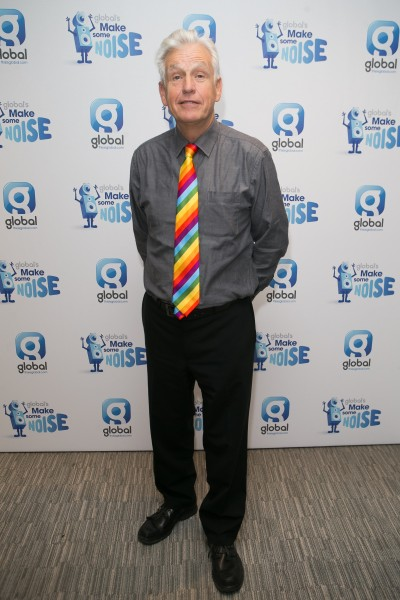 Classic FM presenter Nicholas Owen during Global's Make Some Noise Charity Day at Global Radio station in Leicester Square, London.