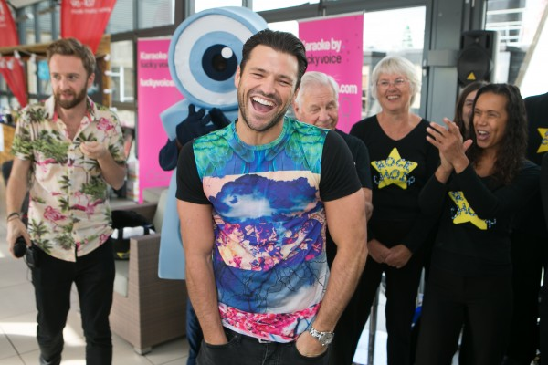 Heart Radio presenter Mark Wright during Global's Make Some Noise Charity Day at Global Radio station in Leicester Square, London.