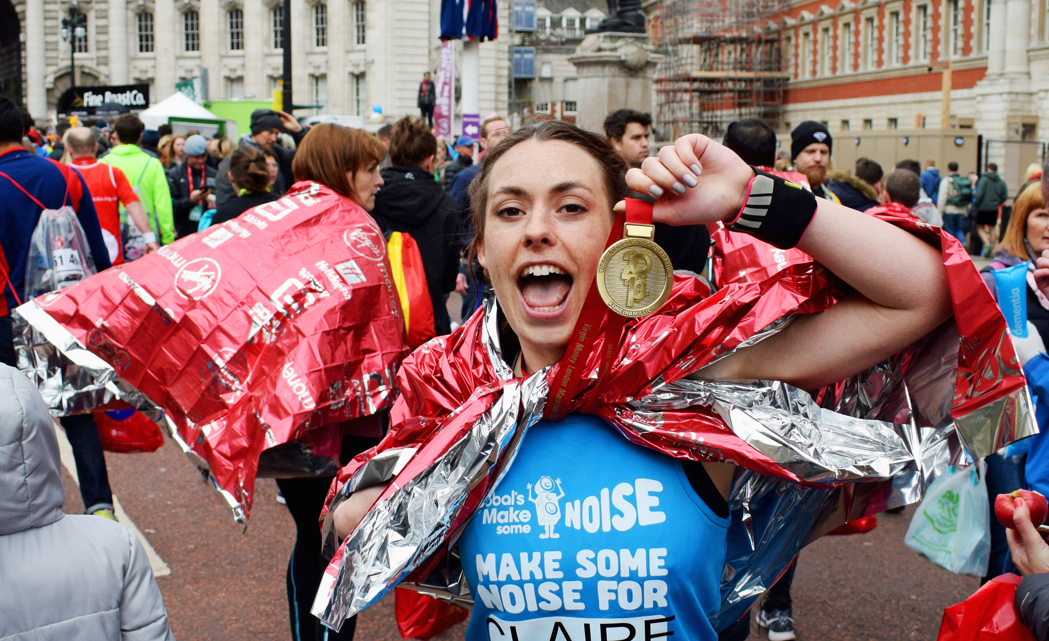 Run the Virgin Money London Marathon for Make Some Noise