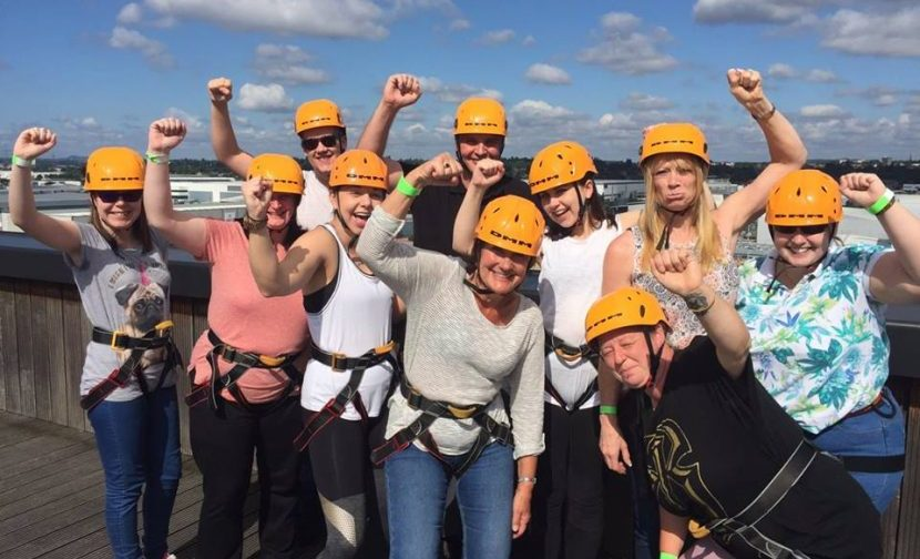 Congrats to our Over The Edge Abseil Team