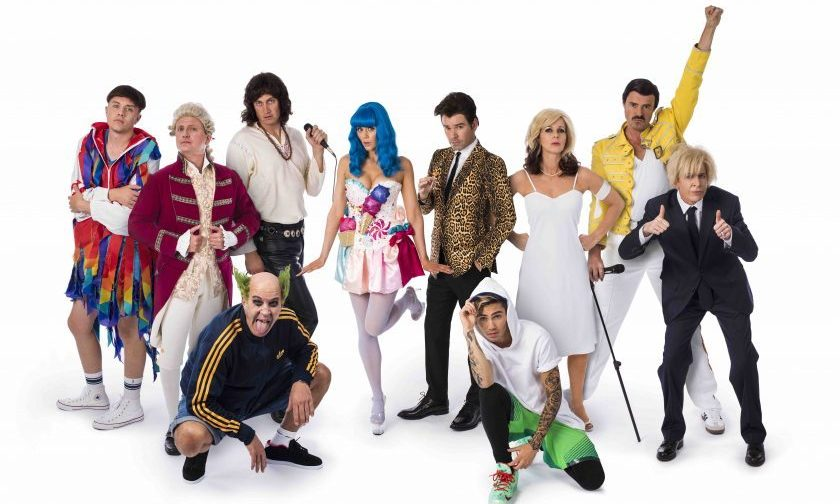 Global presenters dress as 'loud icons' for Make Some Noise