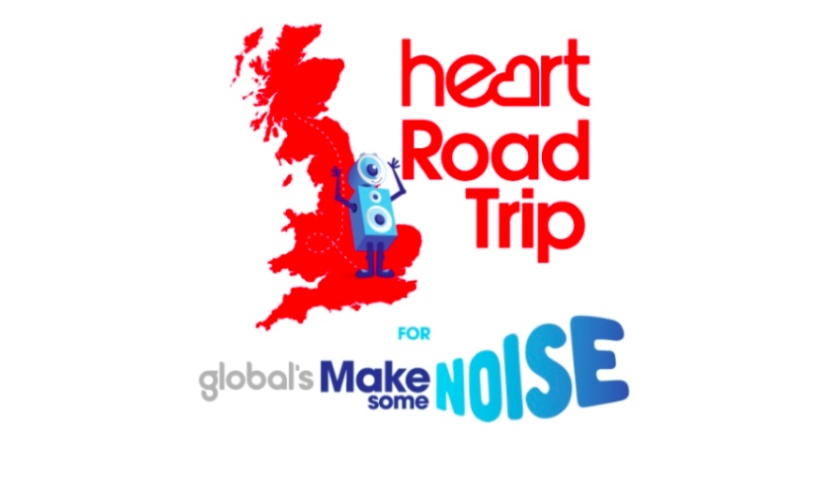 Heart Road Trip for Make Some Noise