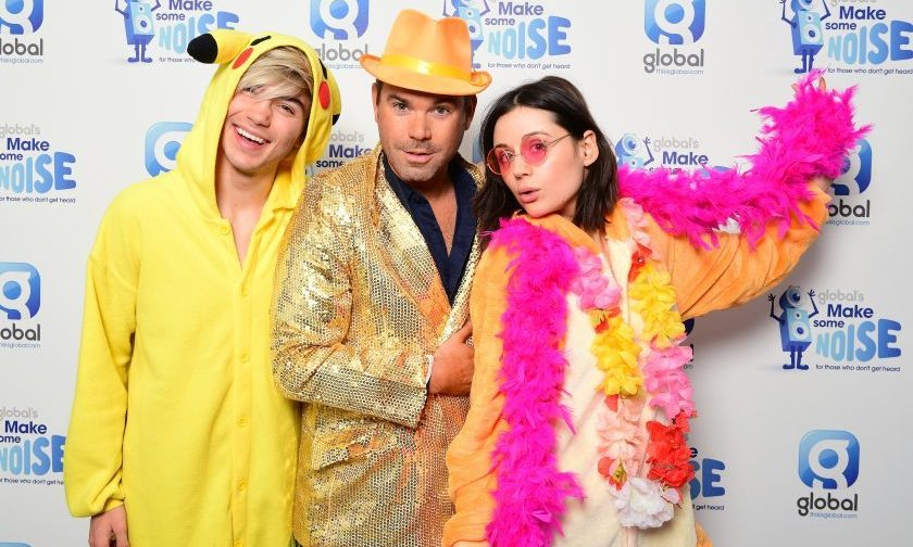 All the pics from Global HQ on Make Some Noise Day!