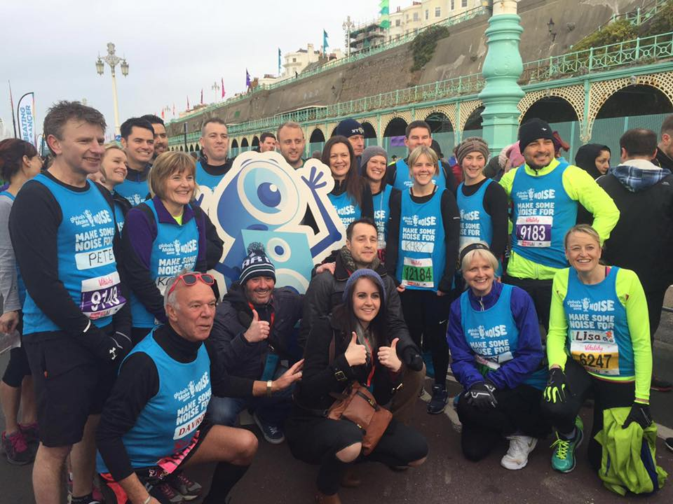 Run the Brighton Half Marathon 2017 for Make Some Noise