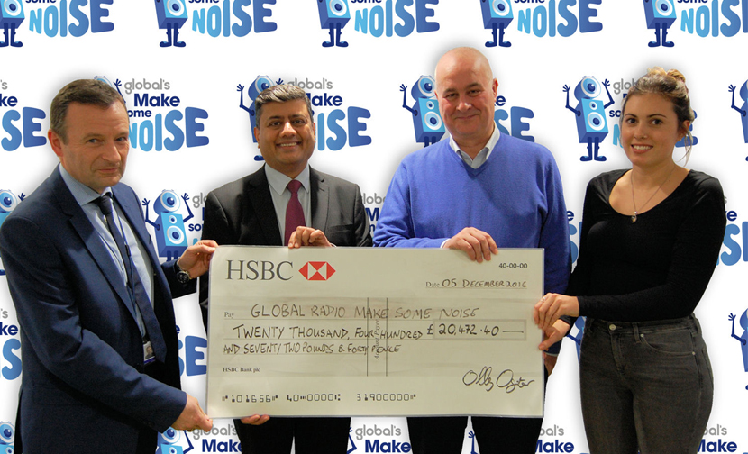 TFL customers donate £20,472 to Make Some Noise