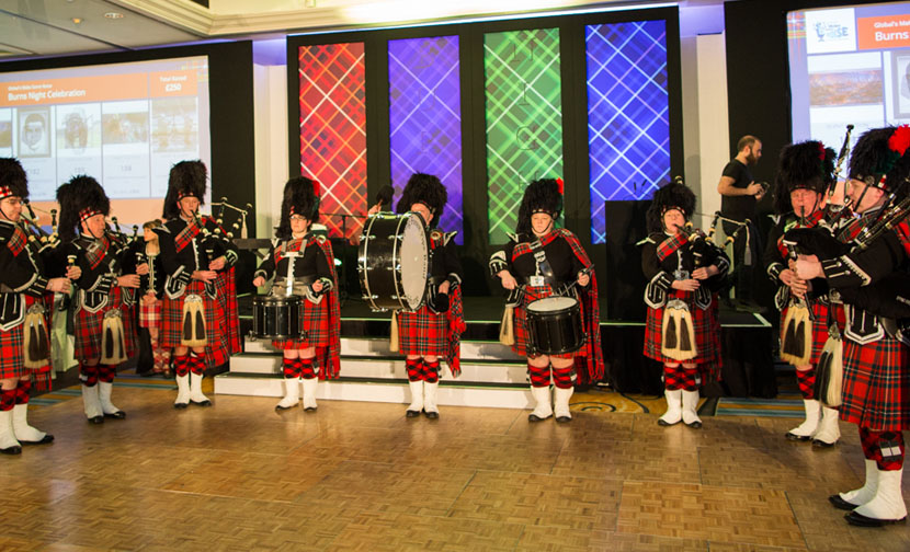 Marriott Hotel's Burns Night raises over £75k for Global's Make Some Noise
