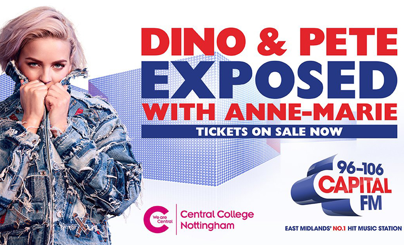 We woke up to Dino & Pete's LIVE Capital Breakfast Show in Nottingham
