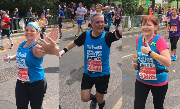 Congratulations to our 2017 London Marathon runners