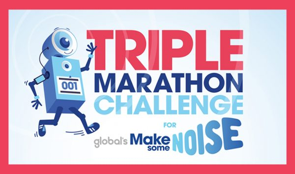 She's done it - Claire has completed her Triple Marathon Challenge