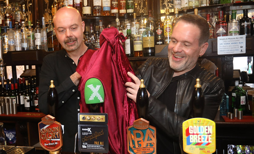 Radio X make some noise with their very own Amplified beer