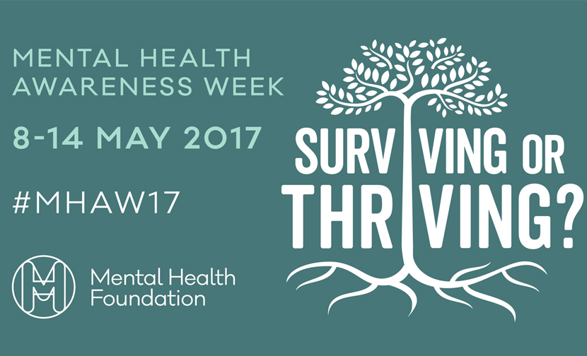 Let's talk about Mental Health Awareness Week 2017