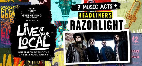 Razorlight are ready to turn up the volume with Greene King