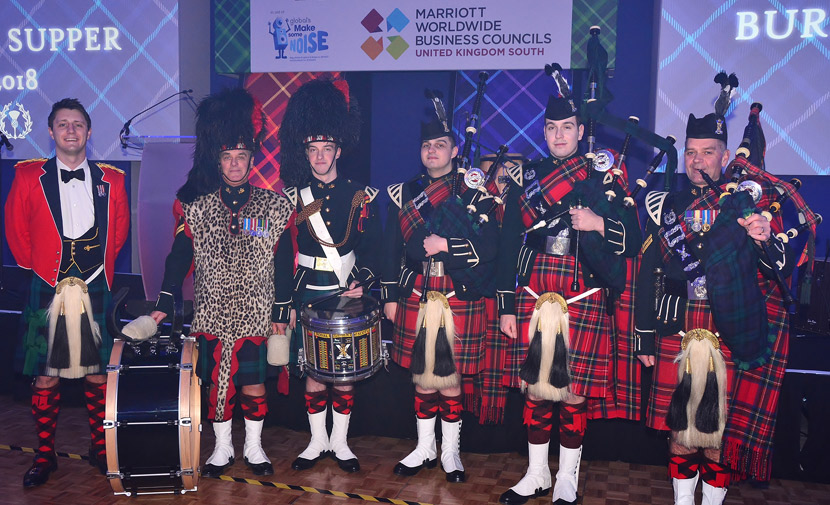 Marriott Hotel's Burns Night raises over £93,000