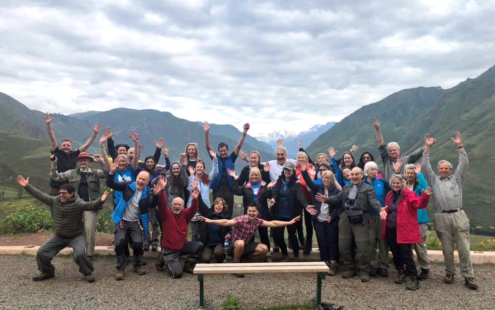 Our trekkers are off! Follow their journey to Machu Picchu