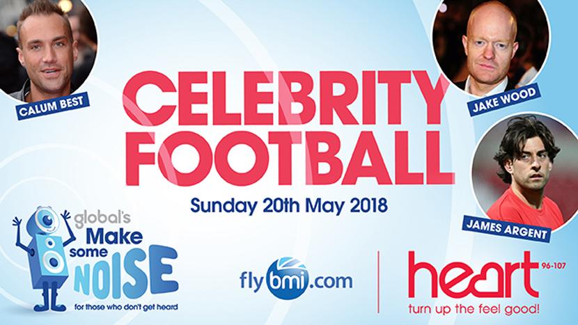 Heart's Celebrity Football is back!