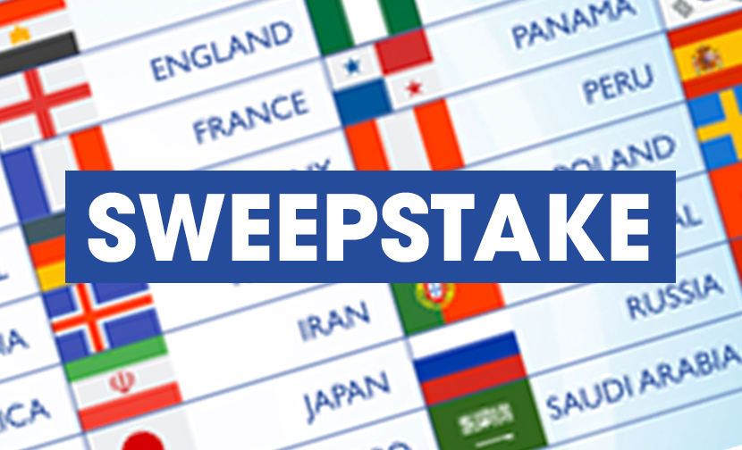 World Cup 2018 Sweepstake ⚽️