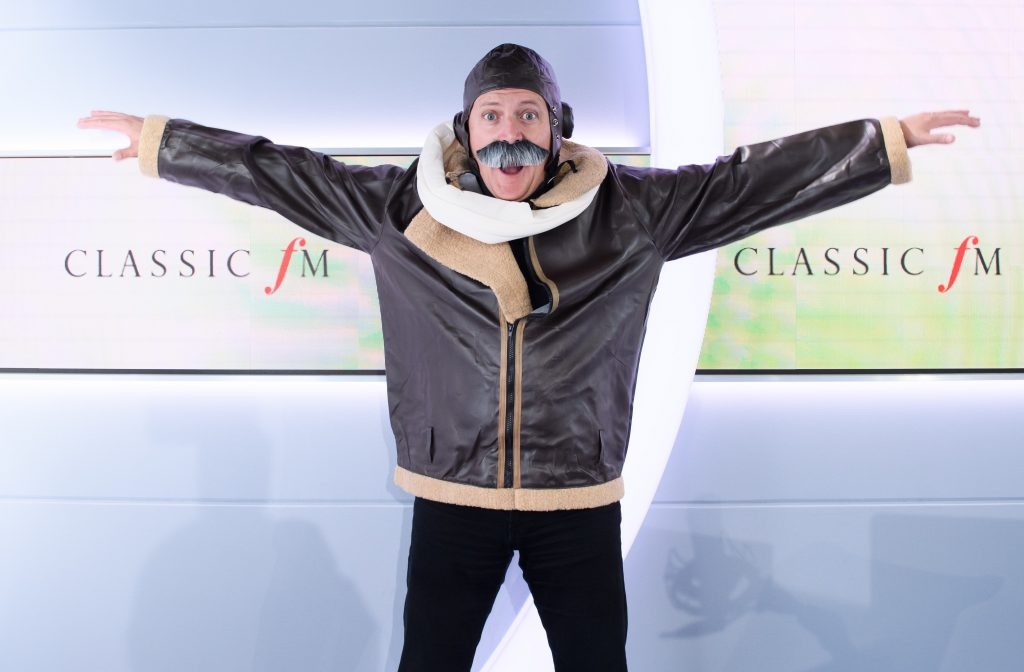 Classic FM's Aled Jones is Wing Walking in the Air!