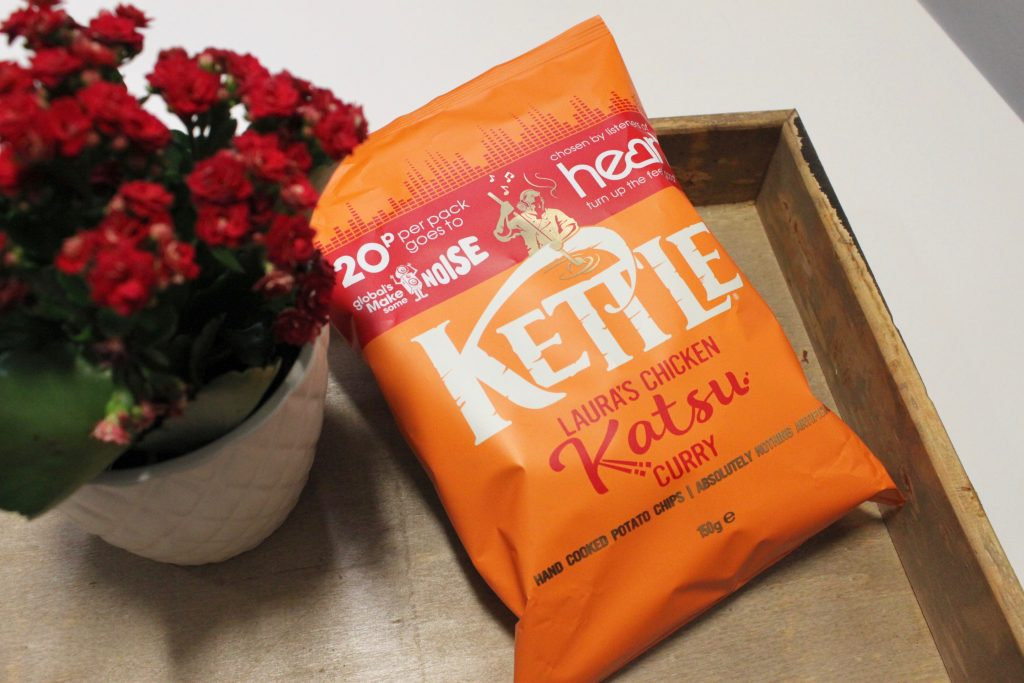Heart Listeners Voted - Introducing 'Laura's Chicken Katsu Curry' KETTLE® Chips!