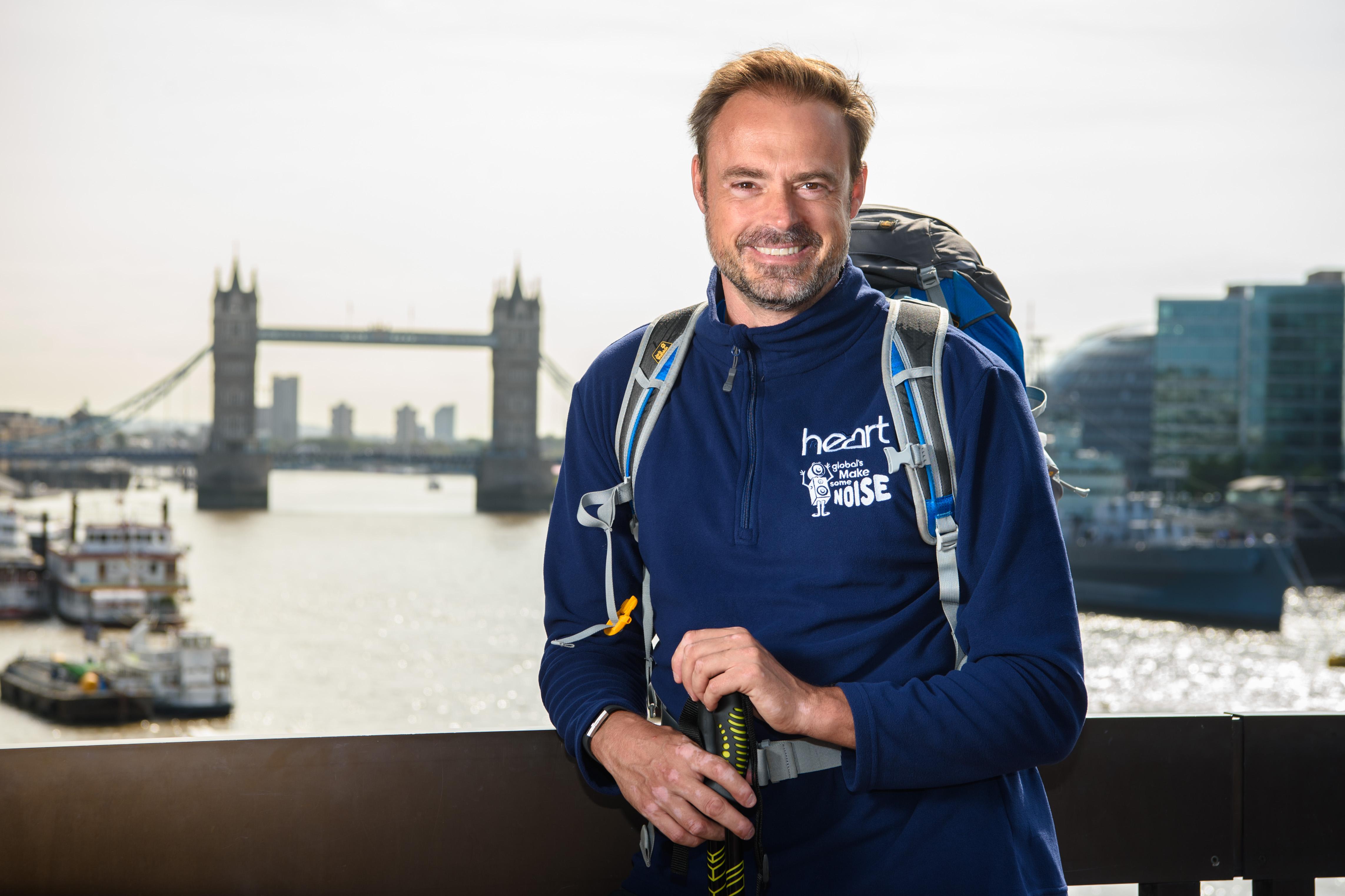 The Final Push! Heart's Jamie Theakston's Long Walk to London