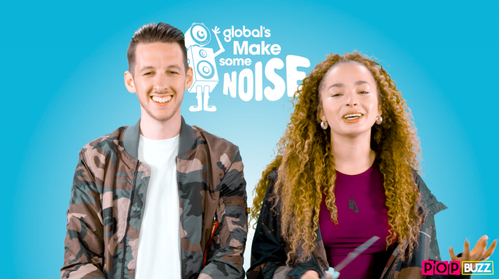 Sigala And Ella Eyre Take On The Whisper Challenge For PopBuzz