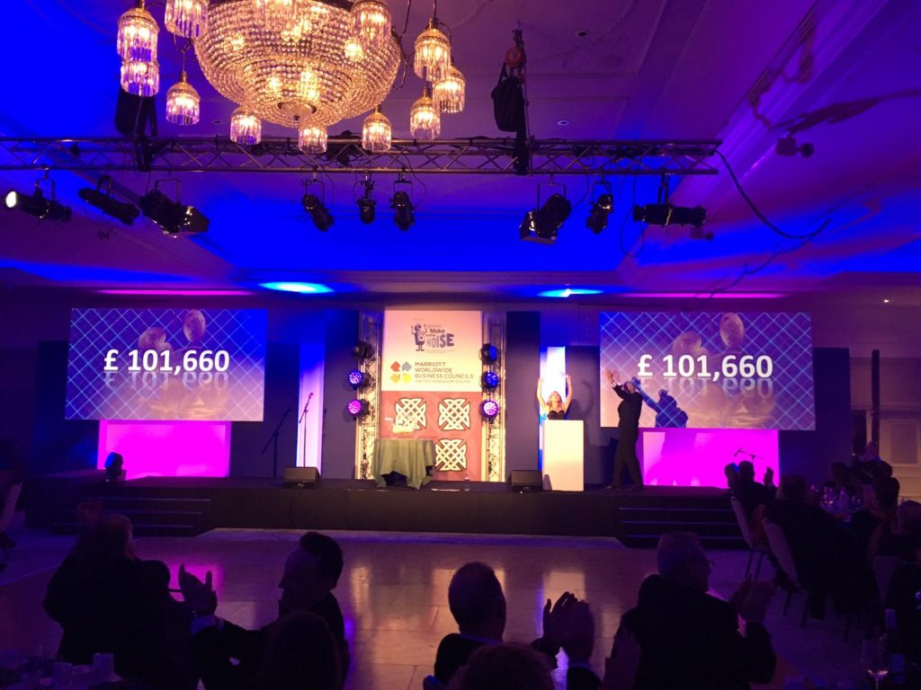 Marriott Hotel's Burns Night raises over £100k