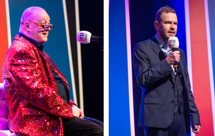 LBC LIVE shows with Steve Allen and James O'Brien raise £35k!