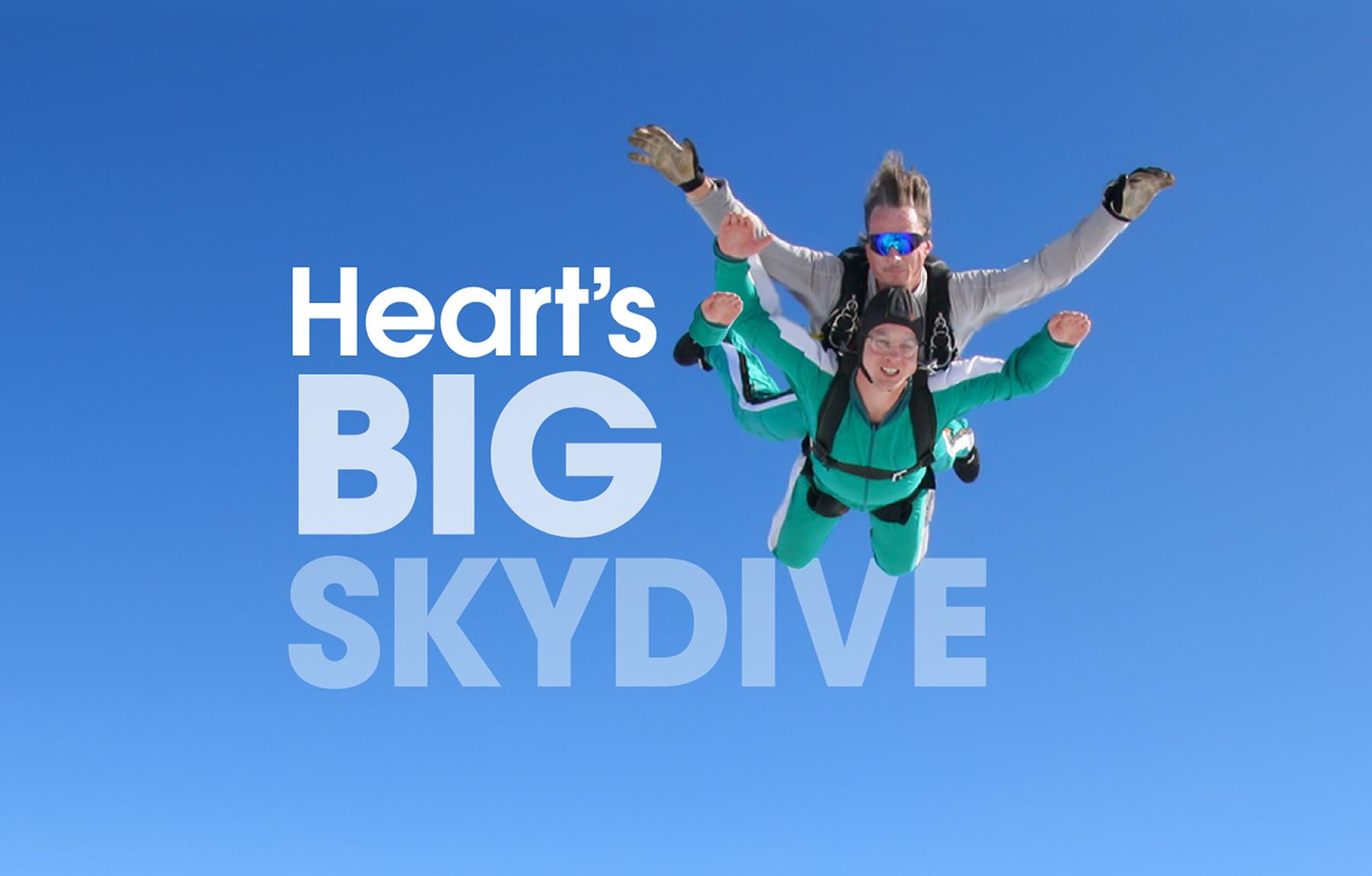 Take on Heart's Big Skydive