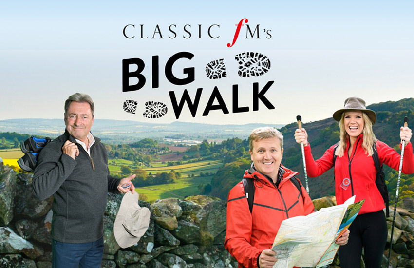 Get outdoors for Classic FM's Big Walk