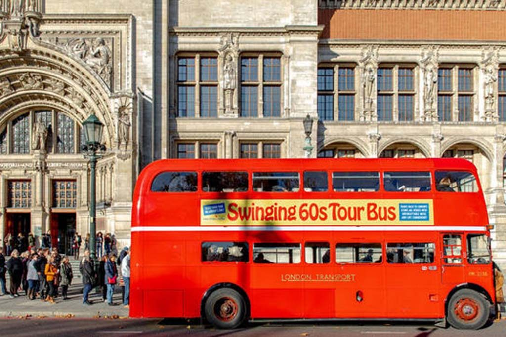 Get tickets for the Swinging 60s London Bus Tour Experience with James Bassam!