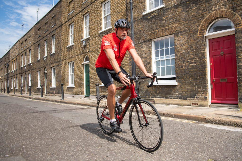 Jame Theakston takes on a 650 mile Bike Britain challenge!