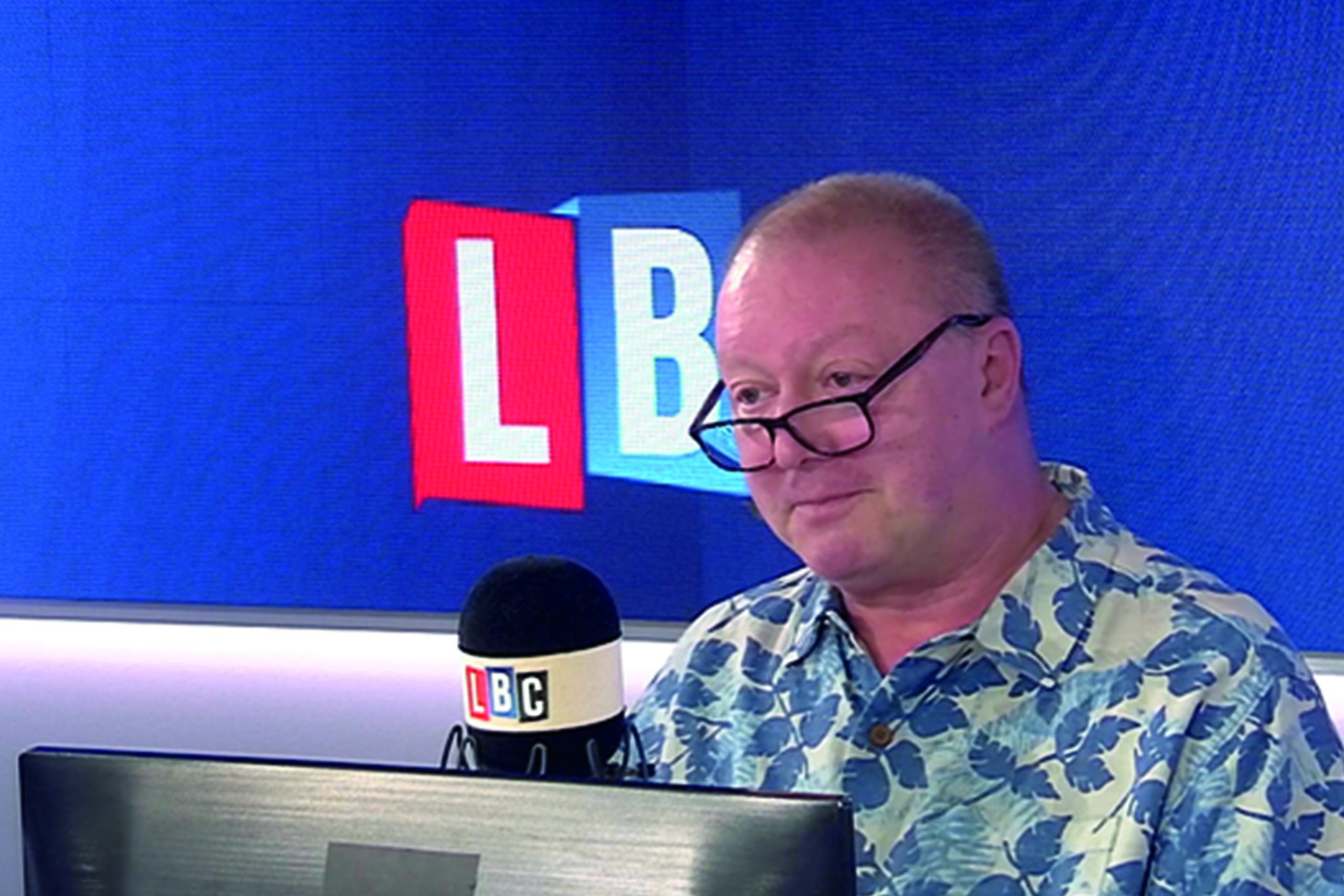 LBC Gave You The Chance To Own A Special Steve Allen Tea Towel