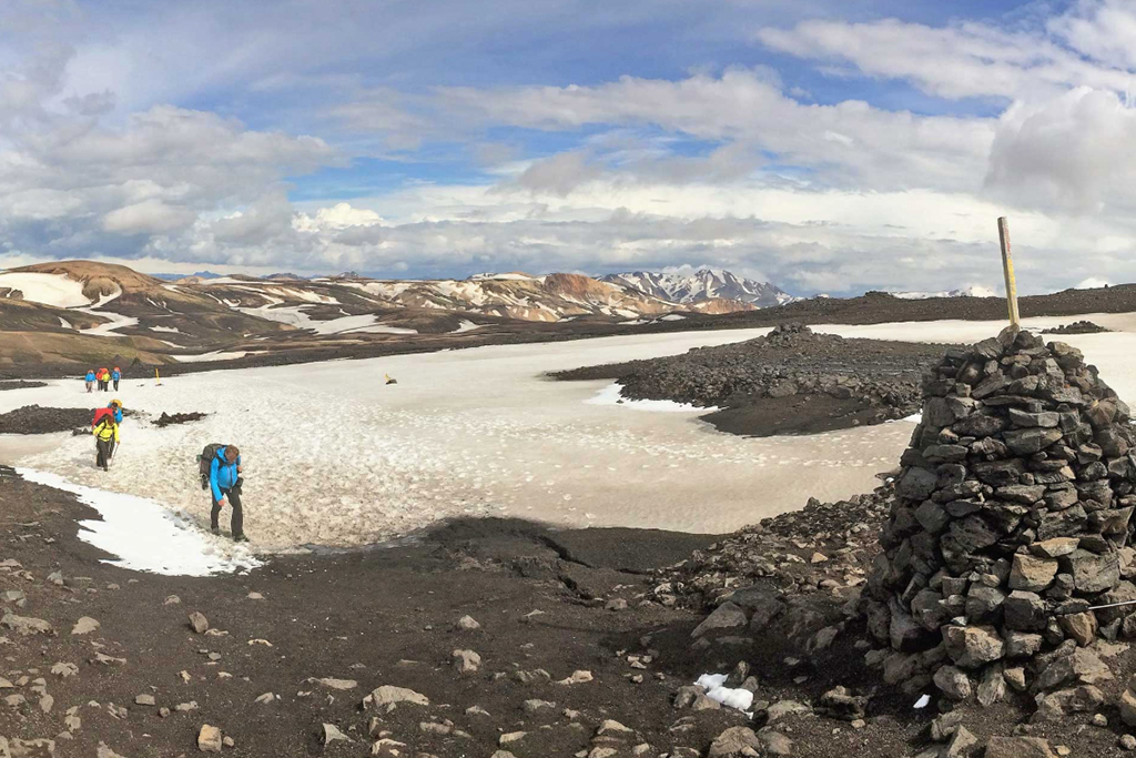 Take on this Icelandic Lava Trek...