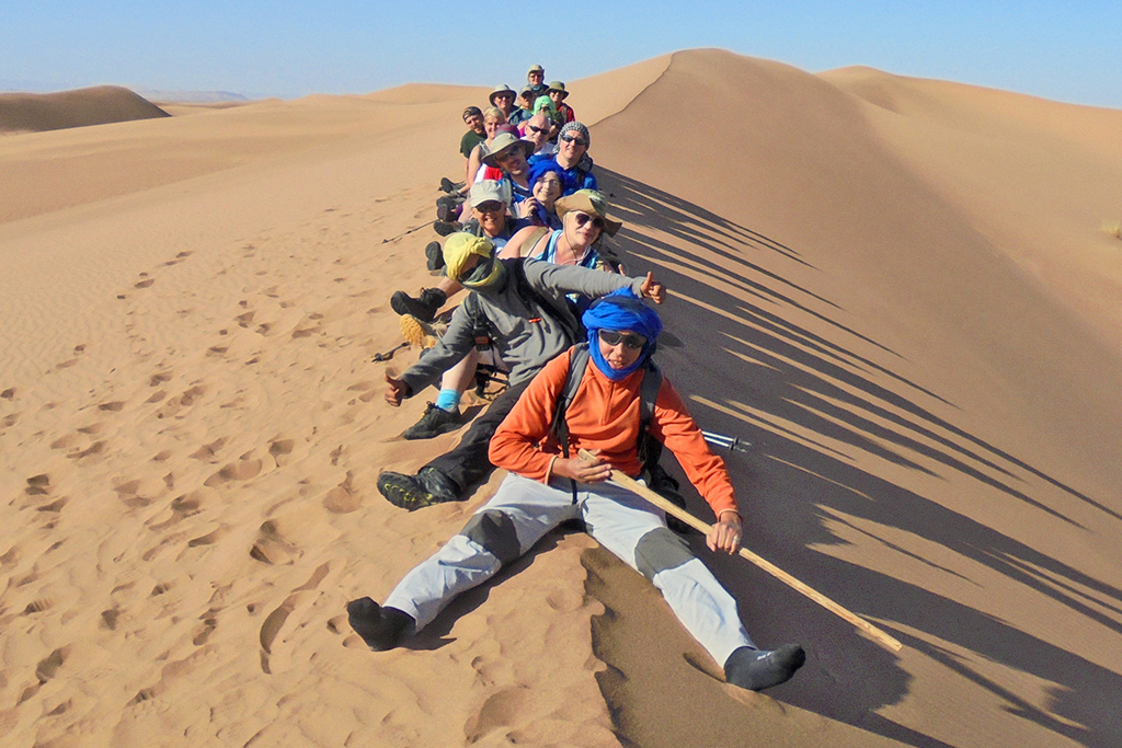 Trek the Sahara Desert