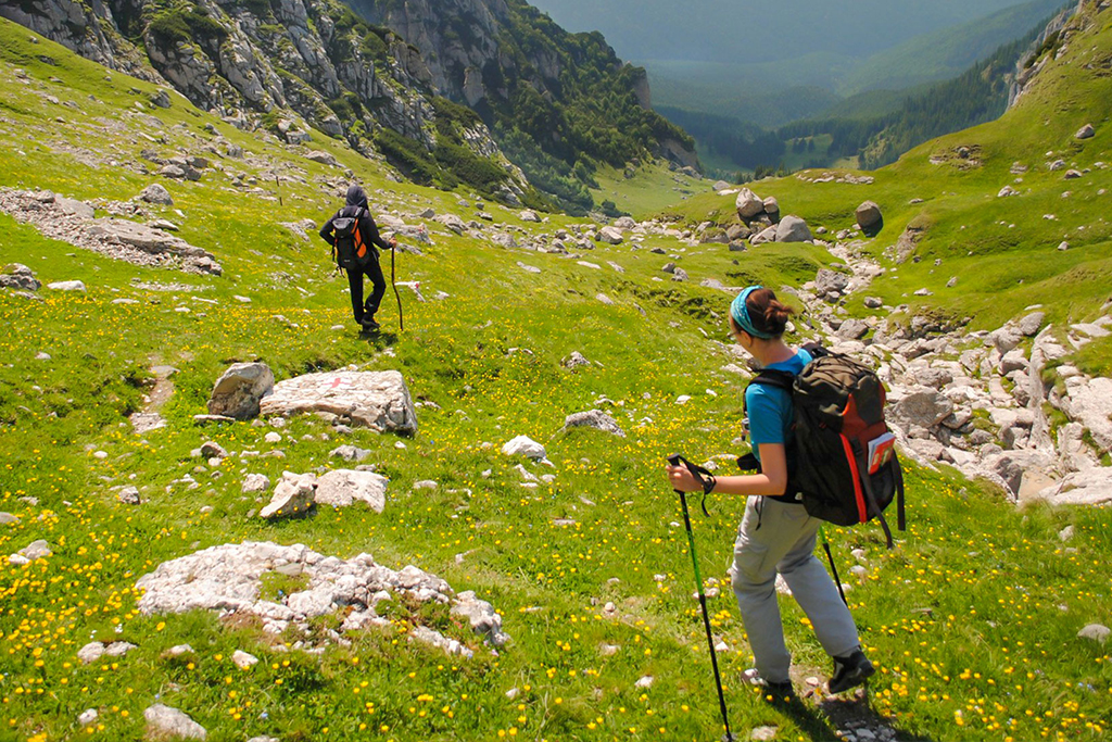 Traverse the Transylvanian Alps...