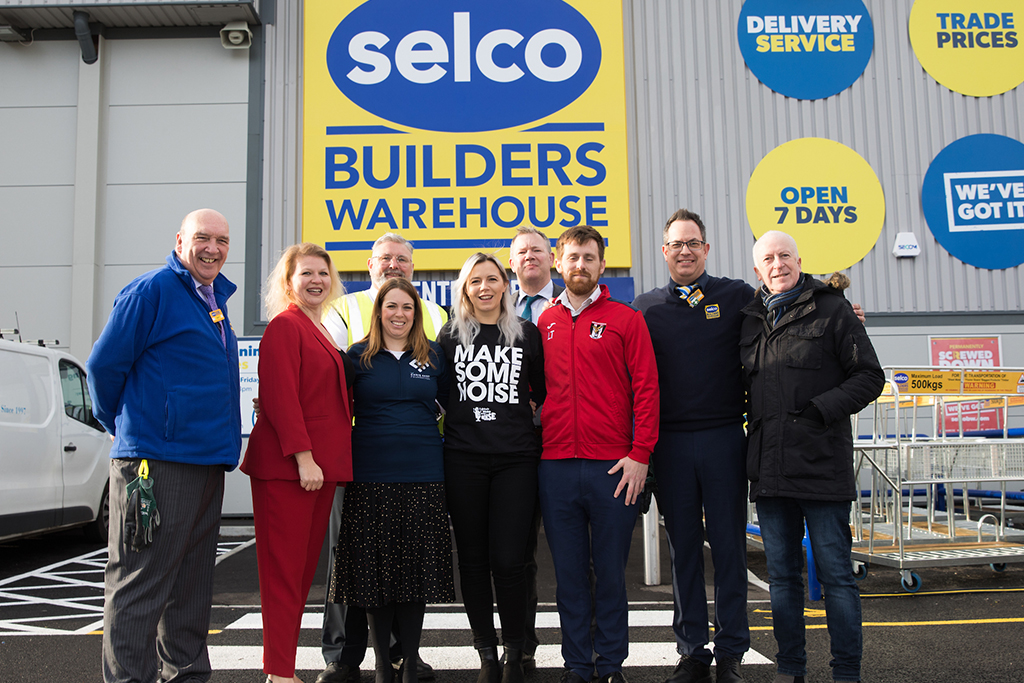 Selco's charity of the year has been announced...