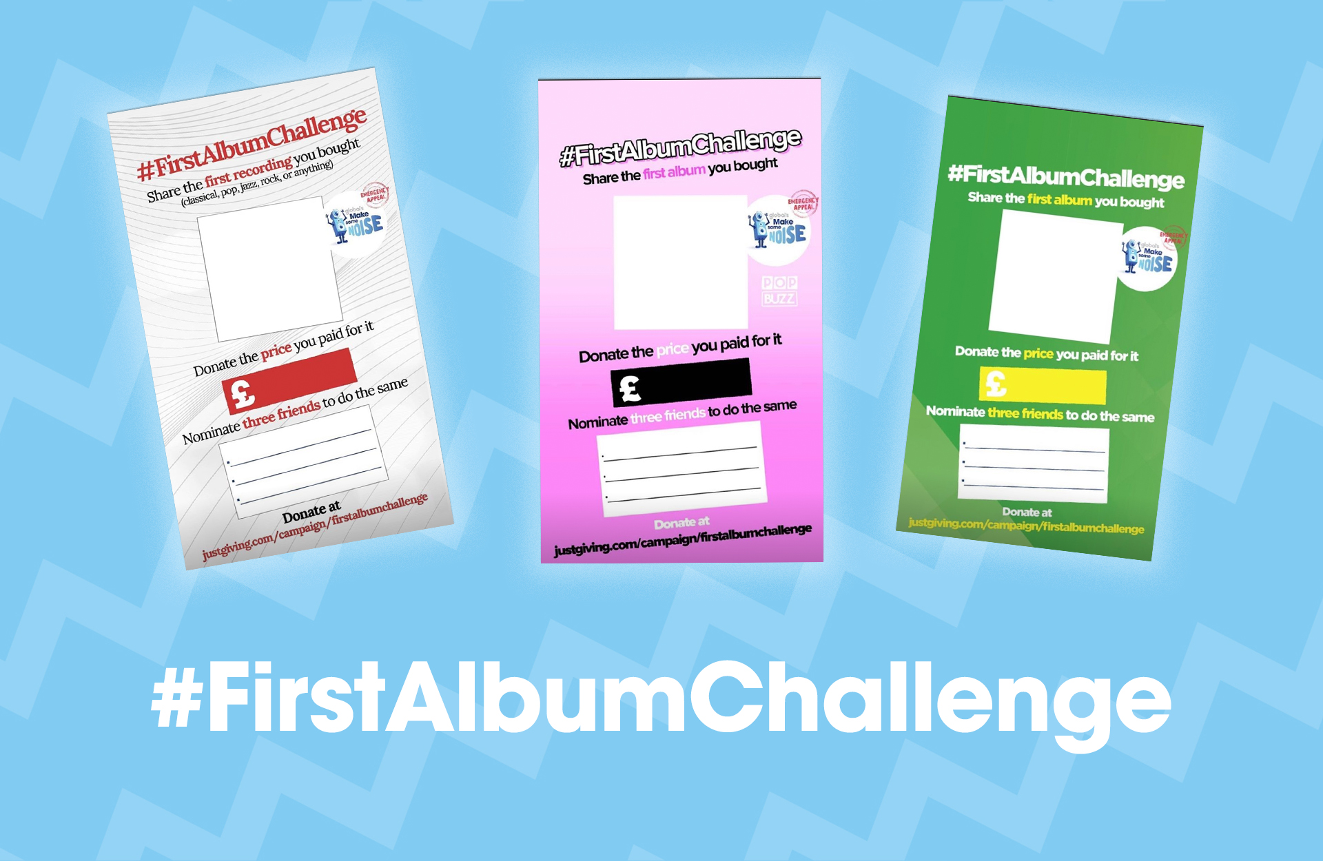 Take on the First Album Challenge!
