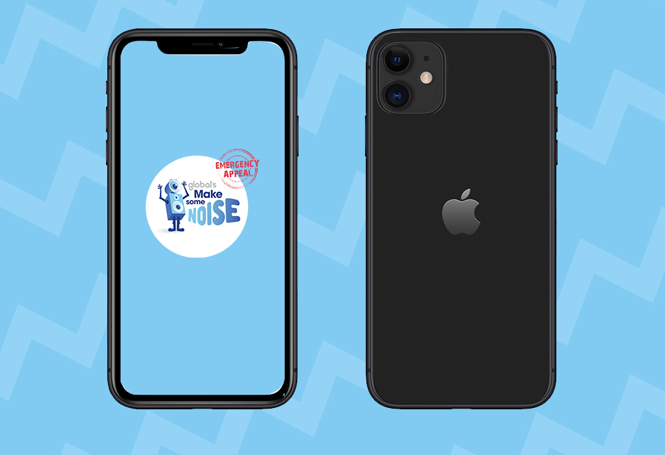 Text to WIN a iPhone 11
