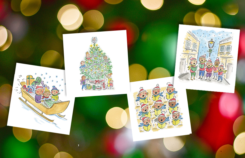 Buy your Classic FM Charity Christmas Cards and Calendar