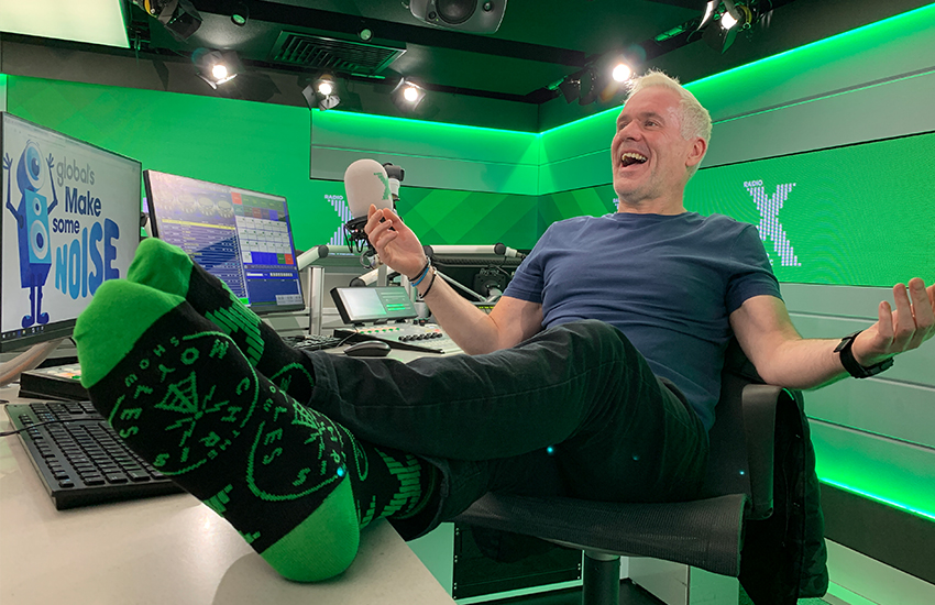 SOLD OUT: Limited Edition Radio X Chris Moyles Socks