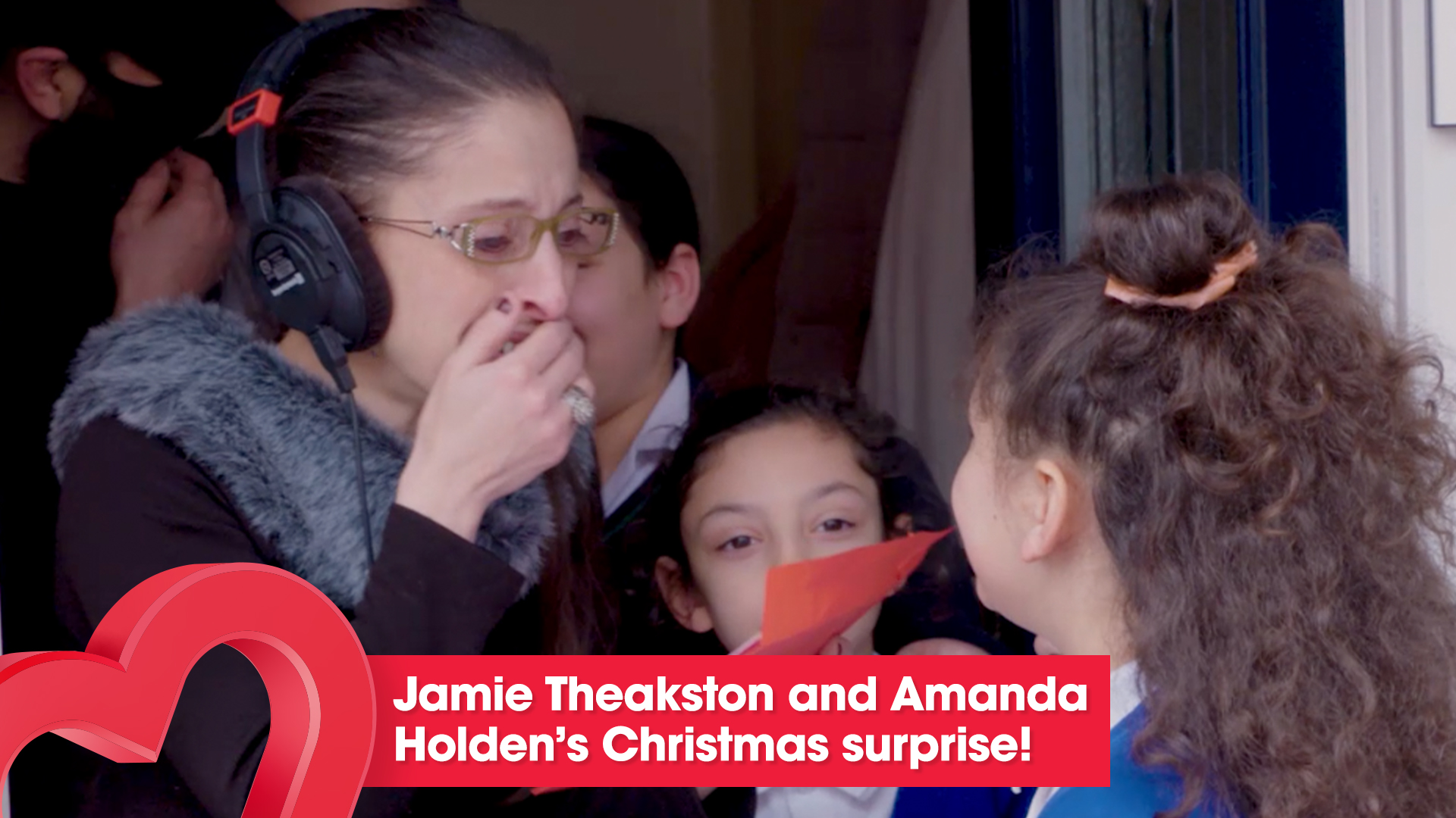 Heart Breakfast surprise a very special family this Christmas