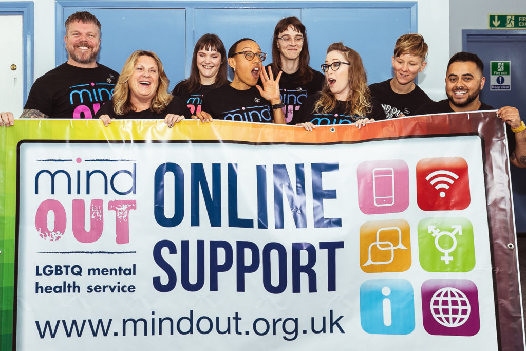 MindOut provides Mental Health Support to LQBTQ+ community