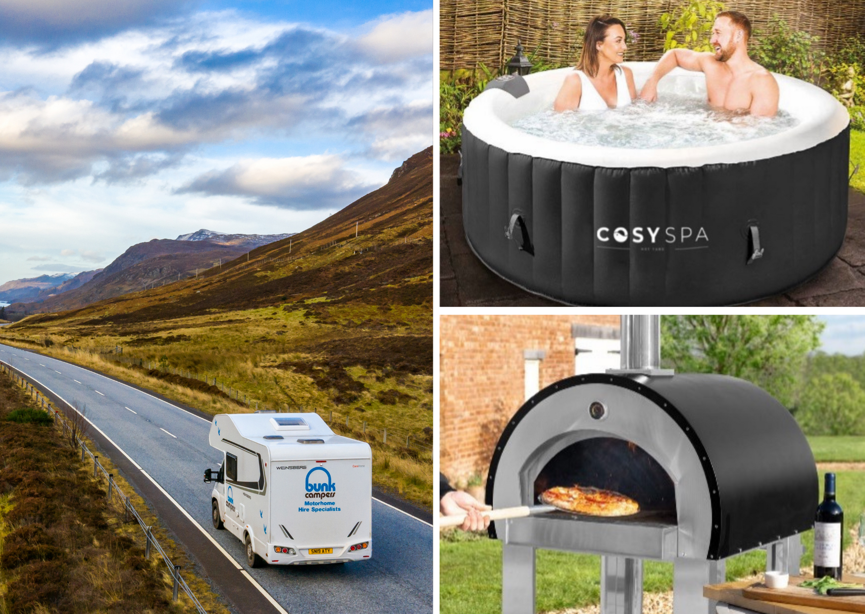 Win a campervan holiday and upgrade your garden!