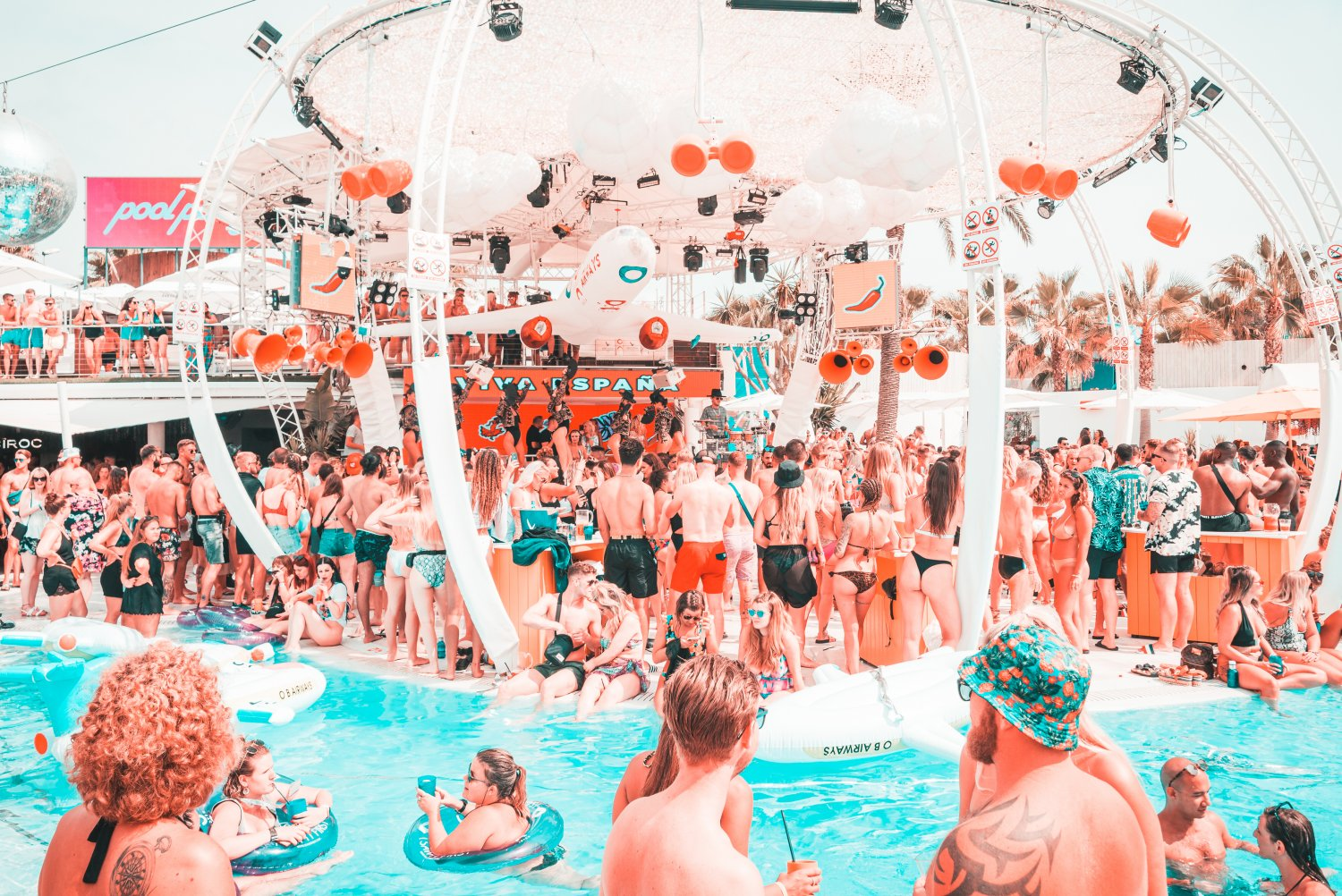 Text to win a trip to Ibiza for you and two mates!