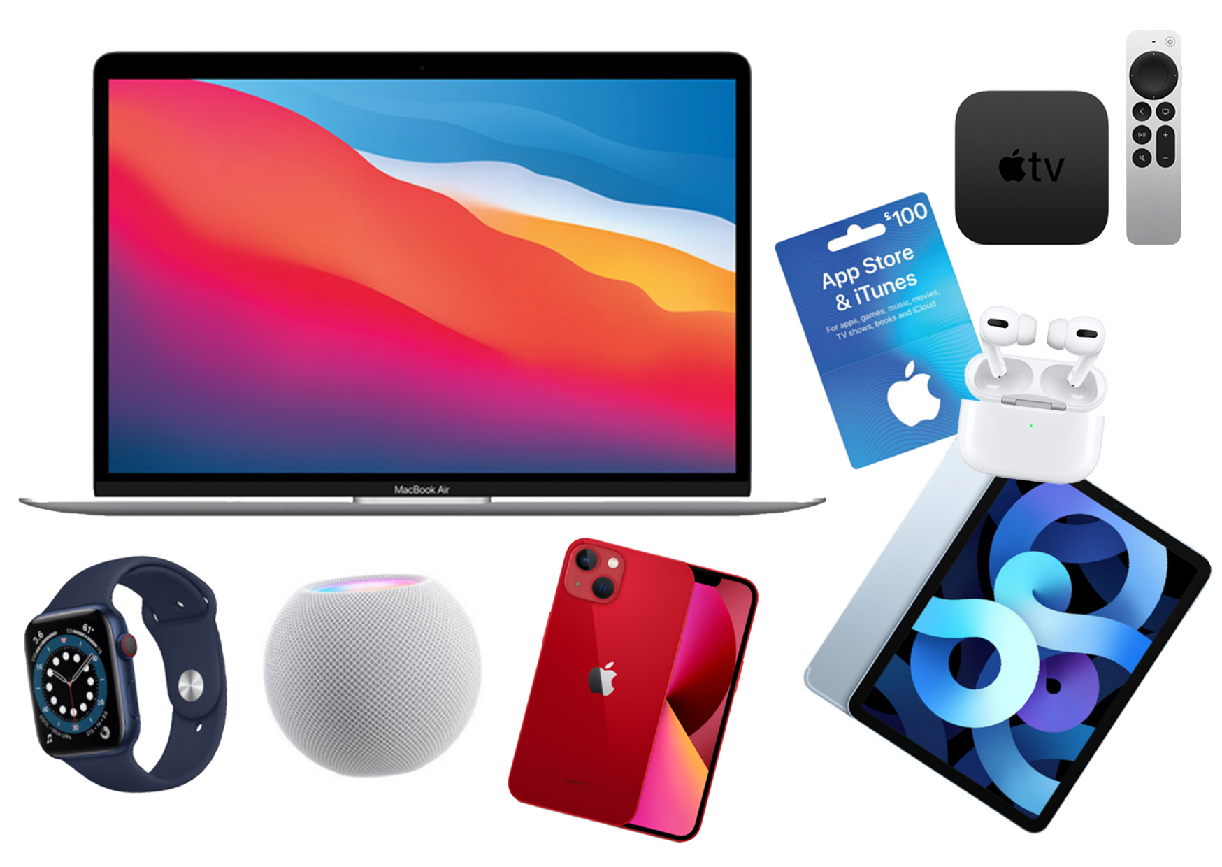 Win a fantastic Apple bundle including the newly announced iPhone 13!
