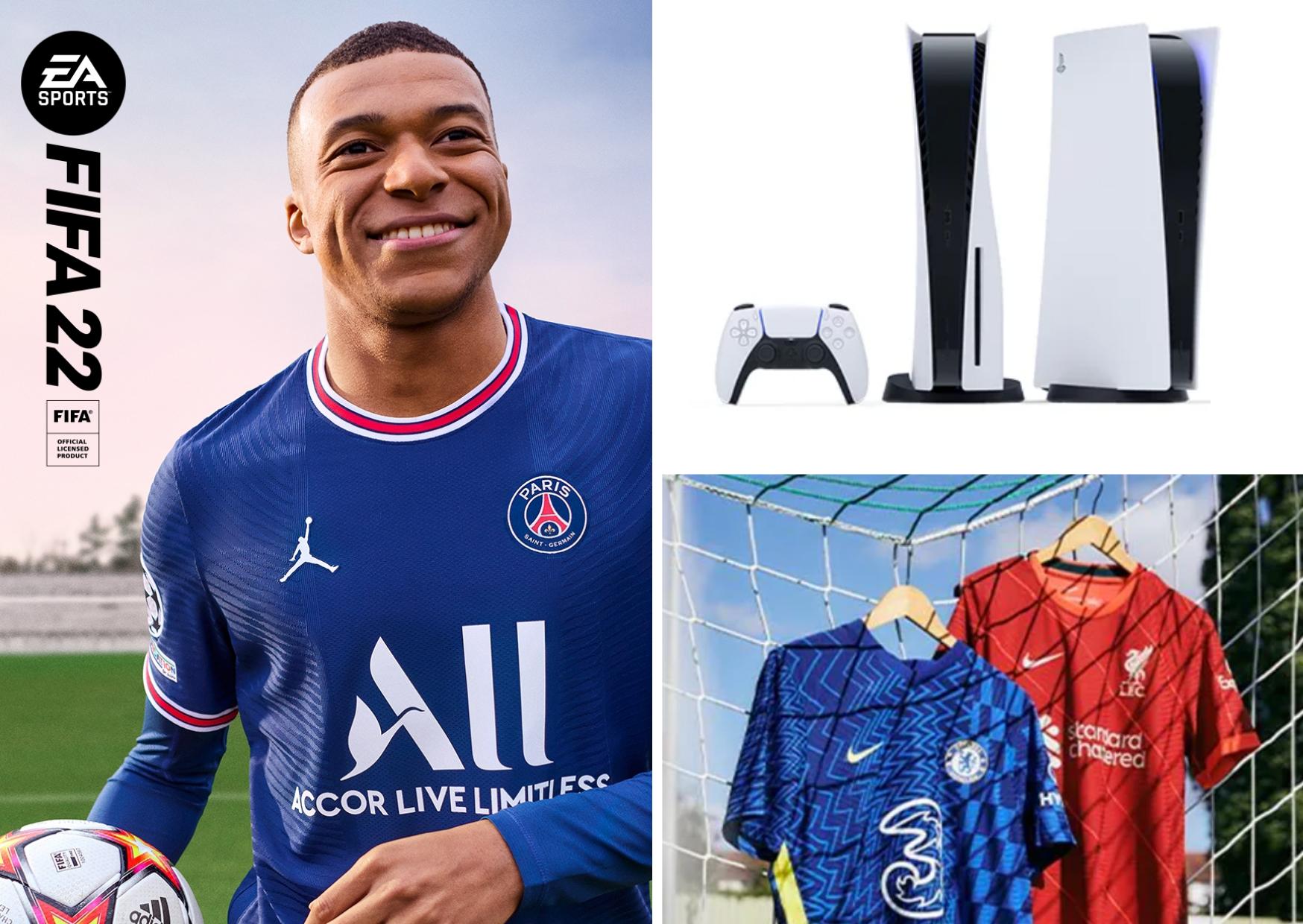 Win the ultimate FIFA 22 bundle!