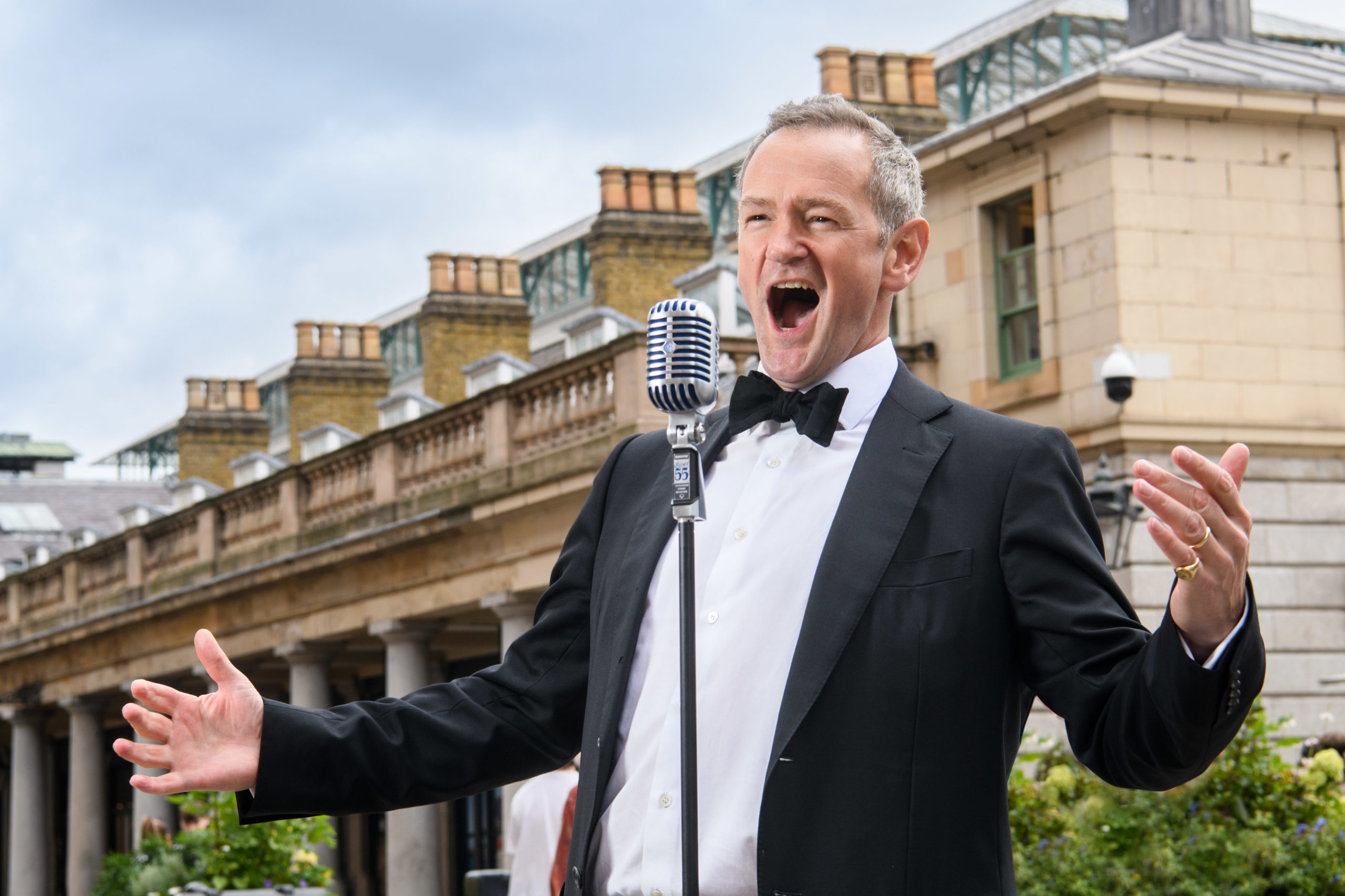 Classic FM's Alexander Armstrong is performing 24 concerts in 24 hours