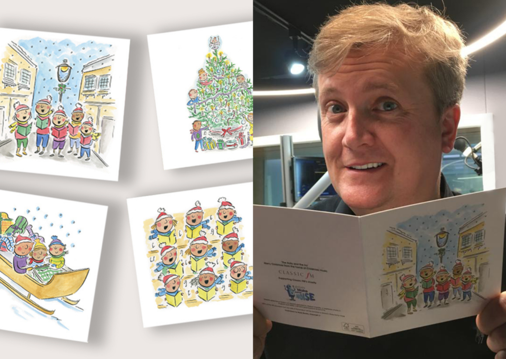 Get organised now with our Classic FM Christmas Cards